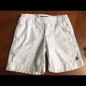 RL Polo white short in good condition size 3T